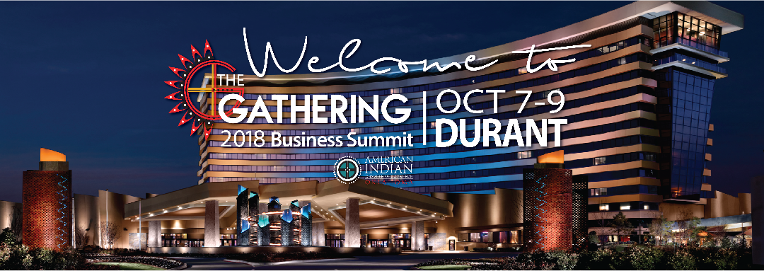 The Gathering Business Summit Welcome Graphic