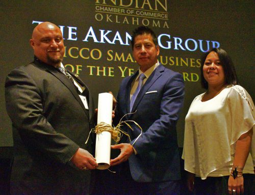 AICCO Presents Small Business of the Year Award to The Akana Group