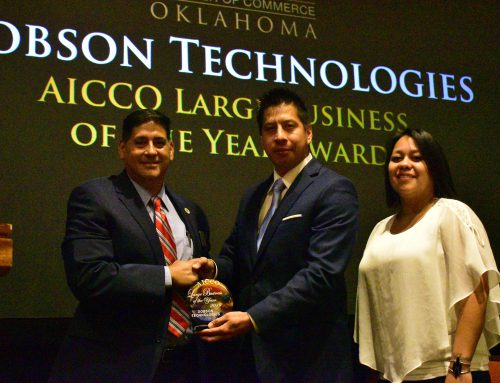 AICCO Recognized Dobson Technologies Large Business of the Year