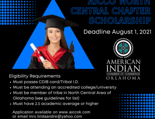 AICCO North Central Chapter Indigenous Collegiate Scholarship