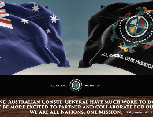 Australia and the American Indian Chamber of Commerce – The Gathering, July 18 – 20
