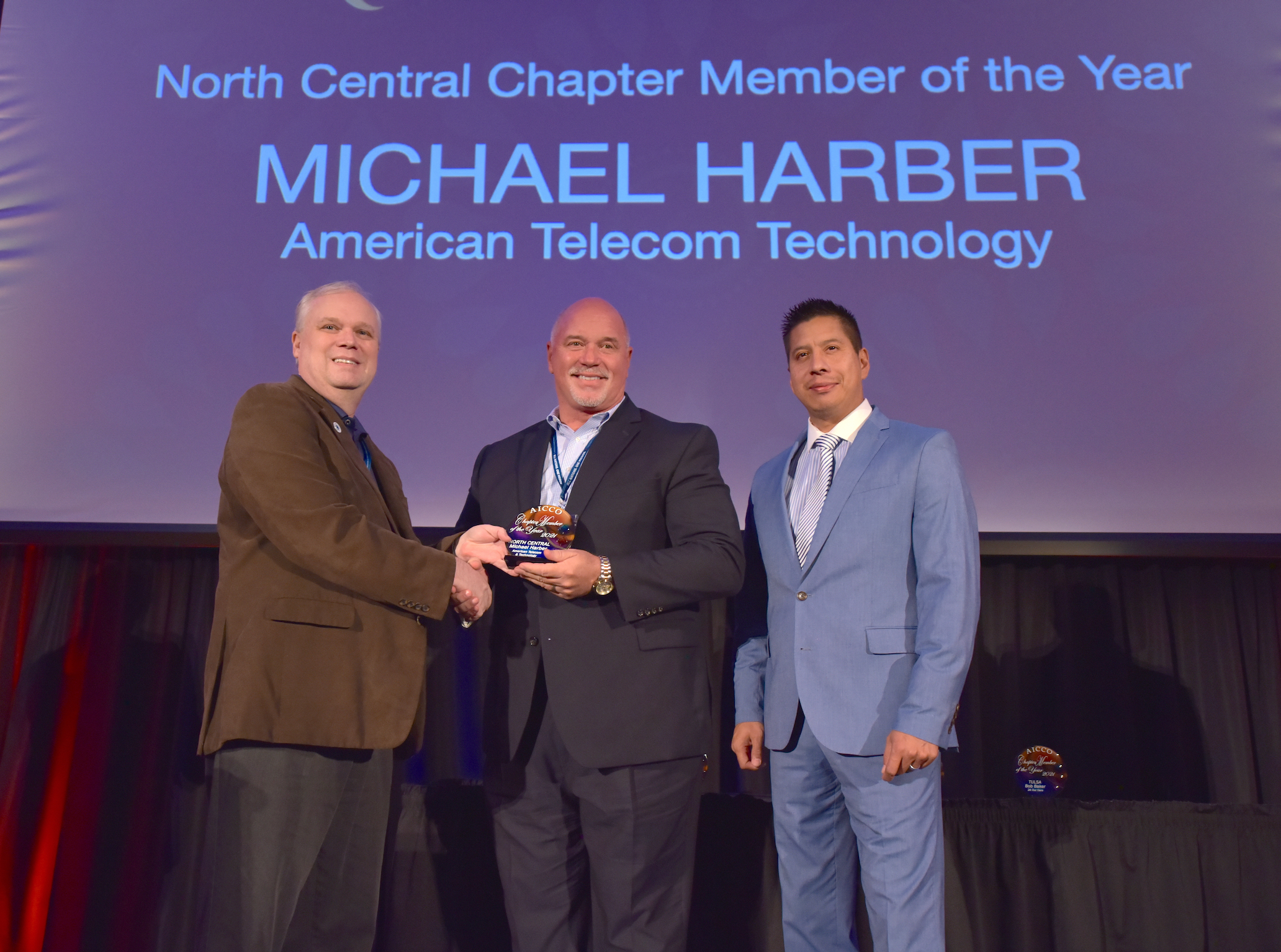 NORTH CENTRAL CHAPTER MEMBER OF THE YEAR AWARD MICHAEL HARBER / American Telecom & Technology