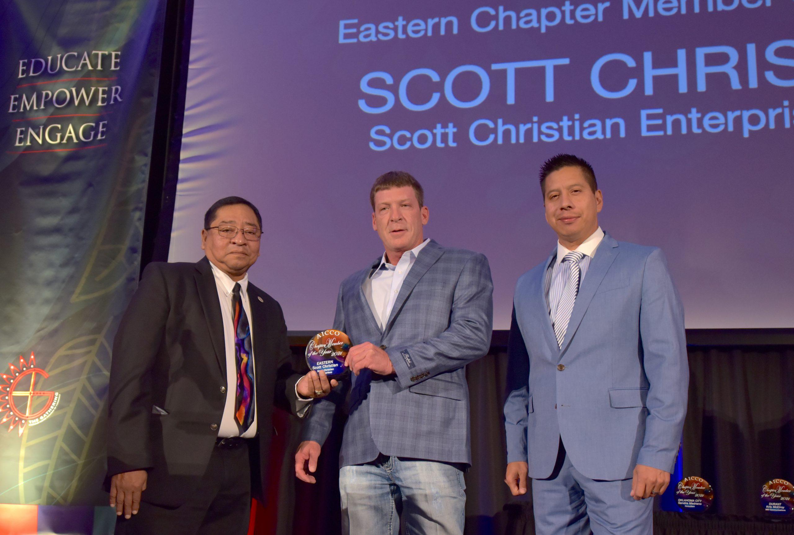 EASTERN CHAPTER MEMBER OF THE YEAR AWARD SCOTT CHRISTIAN / Scott Christian Enterprises, LLC
