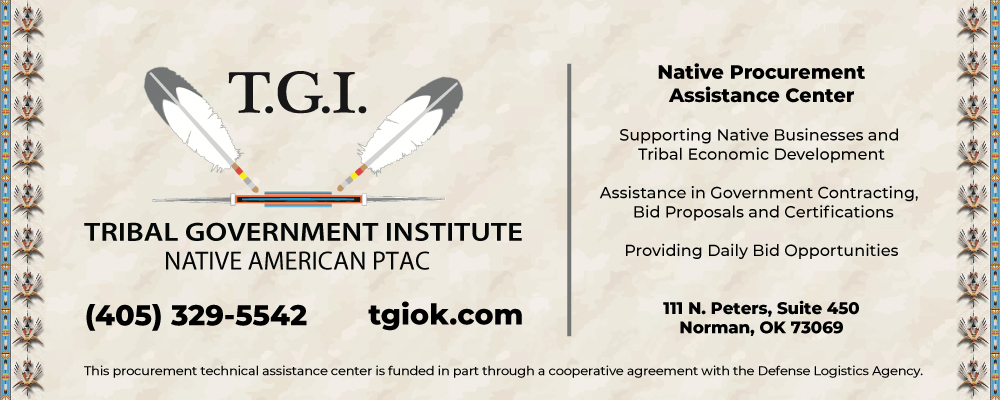 Tribal Government Institute PTAC