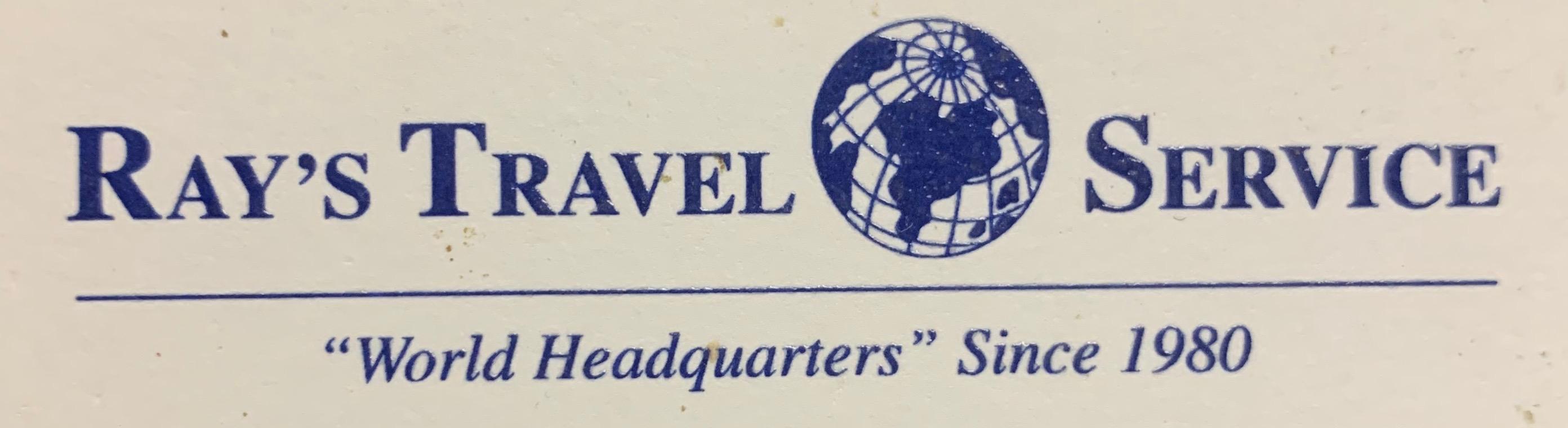Ray's Travel Service